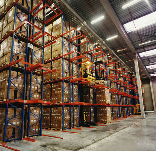 Very Narrow Aisle Pallet Shelving Large Space Utilization Vna Very Narrow Aisle Pallet Racking