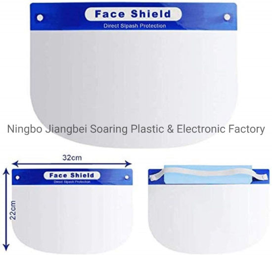 Adjustable Protective Anti Fog Safety Visor Eye Face Cover Face Shields
