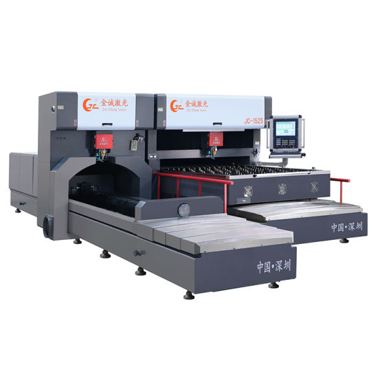 1000W 1500W 2000W Plywood Acrylic Paper MDF Plastic Flat and Rotary Laser Cutting Machine for Die Making