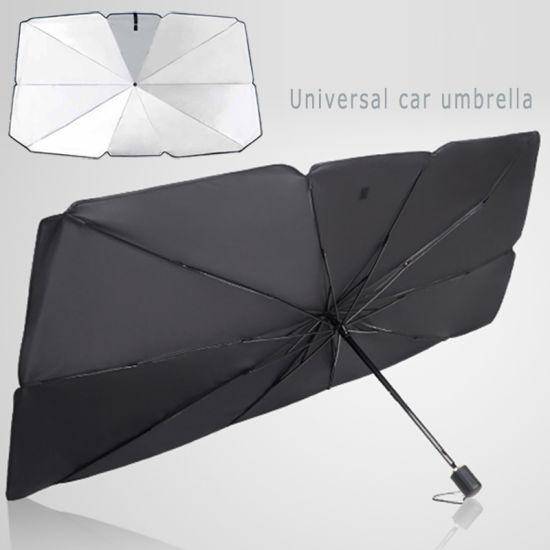 Block for Front Window 3 Fold Car Windshield Sunshade Umbrella