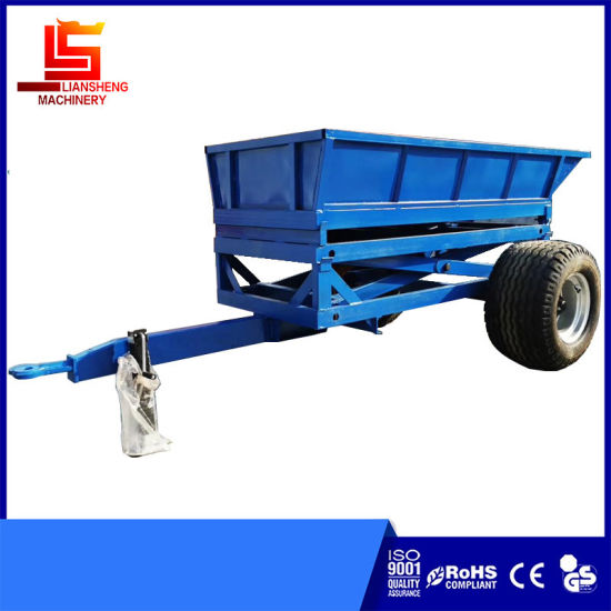 Farm Tractor Trailer 1.5-4tons Self Dumping Trailer Tipping Trailer