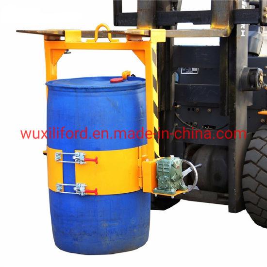 800lb Capacity 55 Gallon Vertical Drum Lifter Lm800