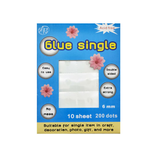 Clear Double Sided Adhesive Single Dots for Craft (GRP03)