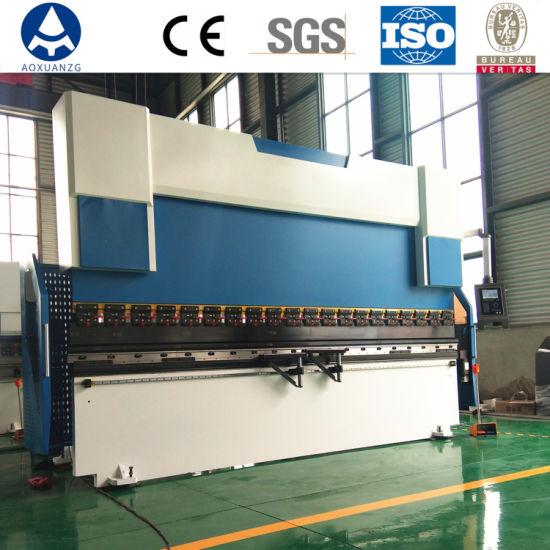 Sheet Metal 63t Press Brake Hydraulic Bending Machinery in Bending Machine with Delem Controller