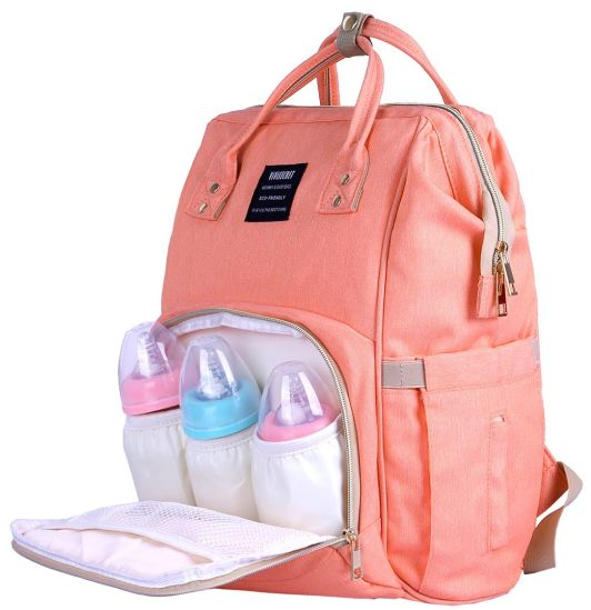 Waterproof Mummy Mother Nappy Diaper Bag Multifunction Changing Baby Maternity Backpack