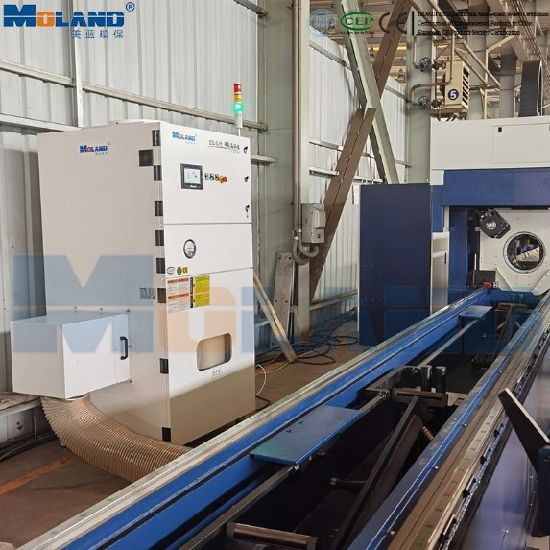 Welding Fume Dust Collection System for Robotic Welding