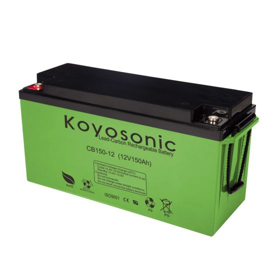 Solar Power Generation Battery 12V 150ah Lead Carbon Battery with 2000 Cycles