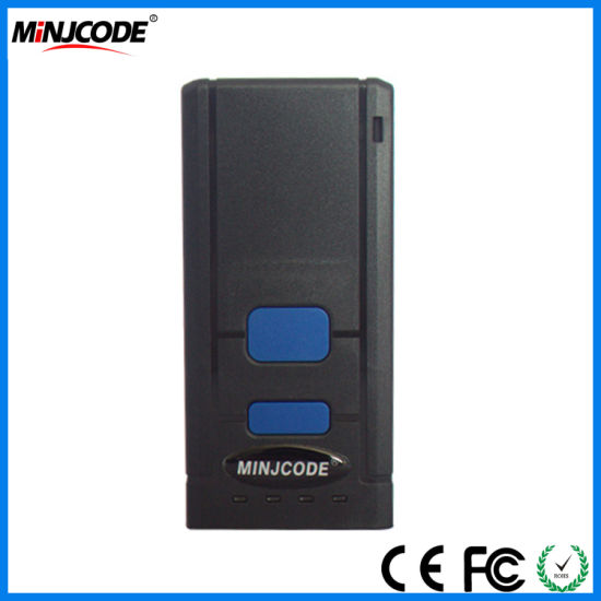 1d Portable CCD Red Light Wireless Bluetooth Barcode Scanner, Barcode Reader Mj2850 pictures & photos