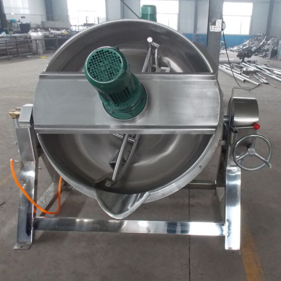 50~600L Oil Jacketed Cooking Kettle Jacketed Kettle