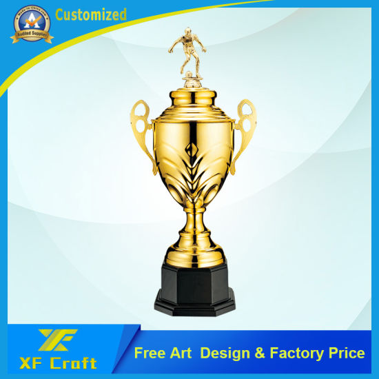 High End Metal Trophy Cup Trophies Made In China For Awards
