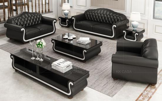 Italian Leather Modern Fabric Furniture