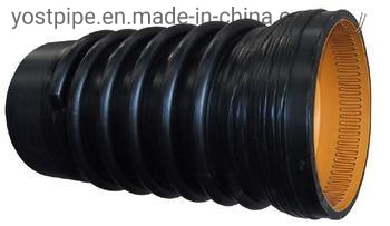 44inch 1100mm Sn8 High Strength HDPE Krah Drainage Pipe
