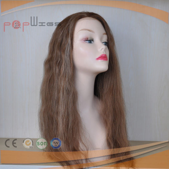 Beautiful Long Curly Human Hair Wig (PPG-l-00006) pictures & photos
