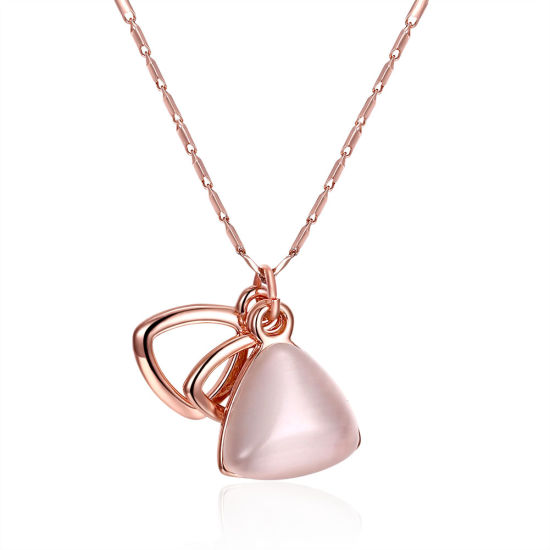 Fashion Design Women Necklace Rose Gold Jewelry Hotsale Neckalce pictures & photos