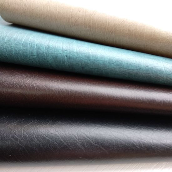 Durable PU Artificial Synthetic Imitation Faux Leather for Sofa-Absorb pictures & photos