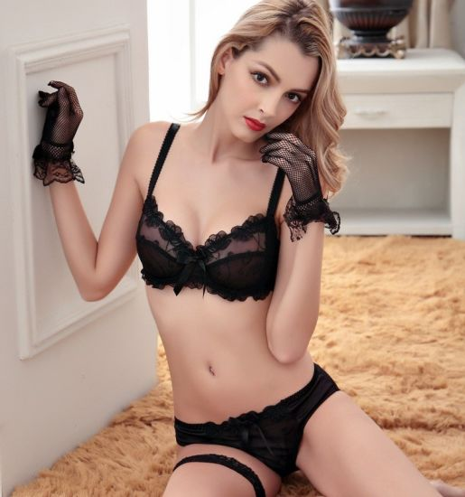 Sexy Lace Bra and Women Bra Set (FPY305)