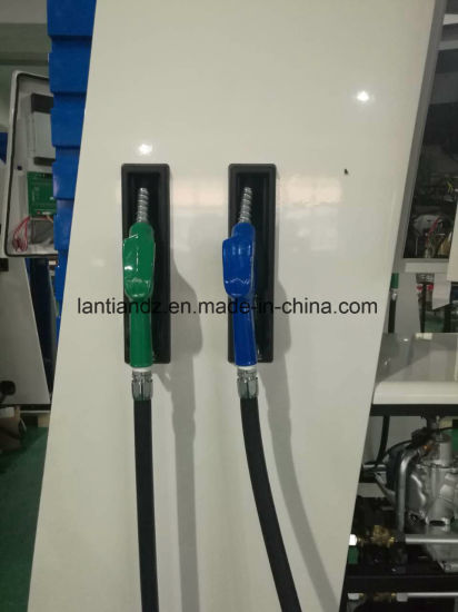 Fuel Dispenser 2pump-4nozzle-4display with TV and Printer of Rt-E244 pictures & photos