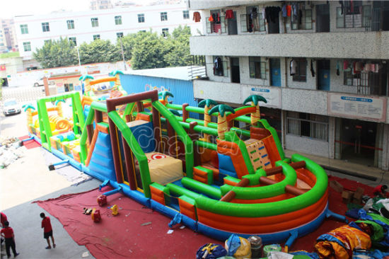 Jungle Giant Inflatable Obstacle Course for Adults Chob1113 pictures & photos