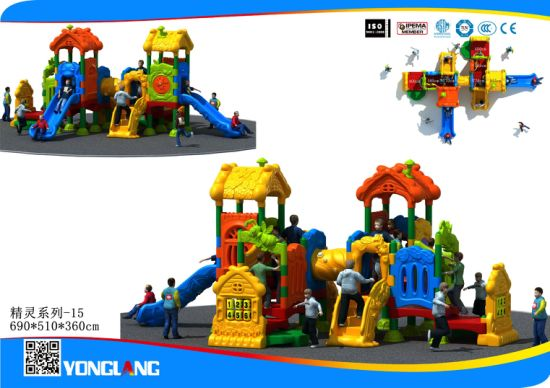 Amusement Park Colorful Playground Slide Set for Children (YL-JL015) pictures & photos