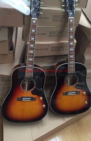 Relic Sunburst John Lennon GB J160 Acoustic Guitar 41