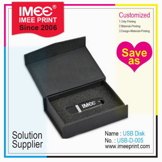 Imee Custom Logo Printing Promotional Promotion USB Pen Wristband Business Card Disk Gift pictures & photos