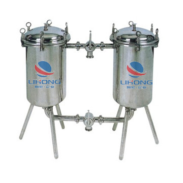 Stainless Steel Double-Vessel Filter for Milk, Wine, Drinks, Vinegar, etc pictures & photos