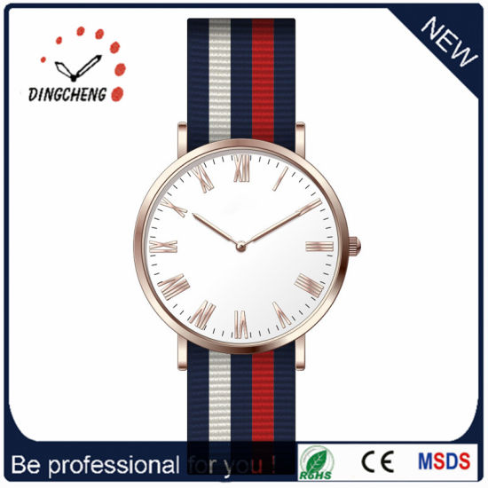 Men's Custom Leather Watches Relojes Silver Watch Dial Component (DC-1102)