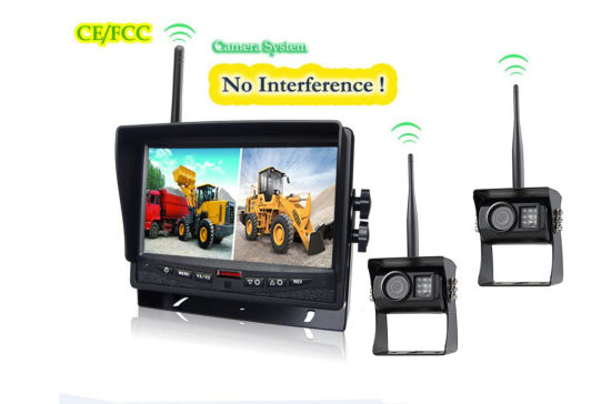 7 Inches Digital Wireless Monitor Camera System Parts for Farm Tractor, Cultivator, Trailer, Truck pictures & photos