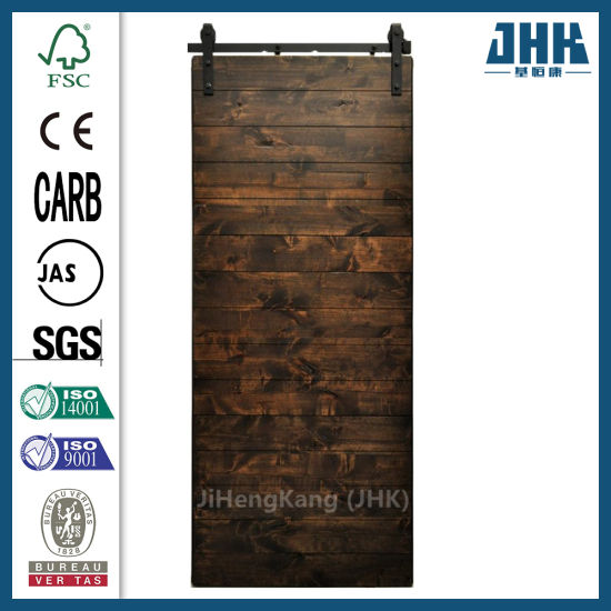 Antique Glass MDF Soundproof Interior Sliding Barn Doors
