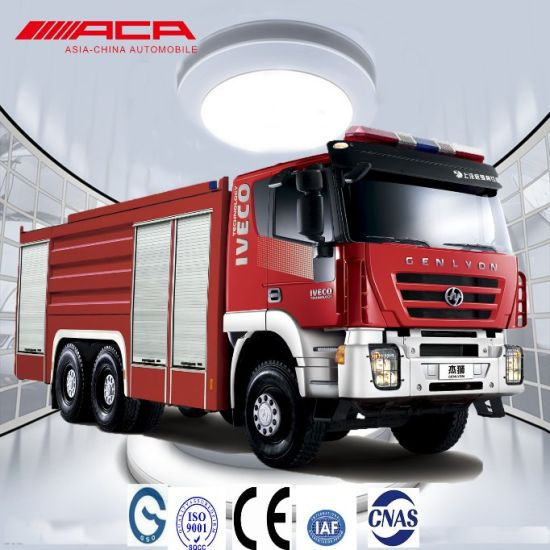 Saic-Iveco 6X4 Water and Foam Heavy-Duty City Fire Truck