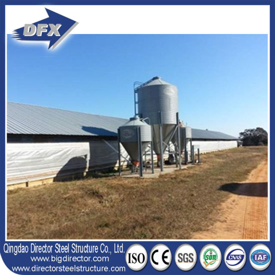 Customized Prefabricated Steel for Broiler Chicken Farming pictures & photos