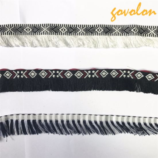 Good Quality Chinese Style Pattern Tassel Fringetrimming