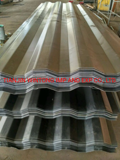 Galvanized Zinc Aluminium Coating Corrugated Galvalume Roofing Sheets