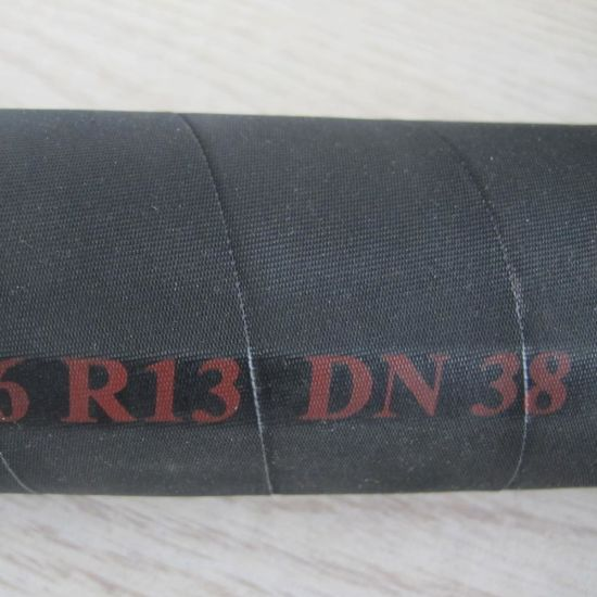 Black Wrap Surface Four Steel Spiral Reinforced Good Selling SAE 100 R13 10000 Psi Hydraulic Hose