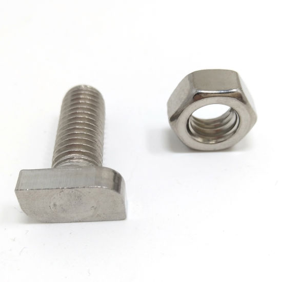 China Nuts Bolts Hardware Fasteners Stainless Steel Hammer Head Bolts China Carbon Steel Bolt Stainless Steel Bolt