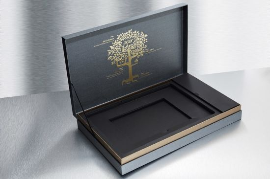 Double Black Card Board Printing Cosmetic Box pictures & photos