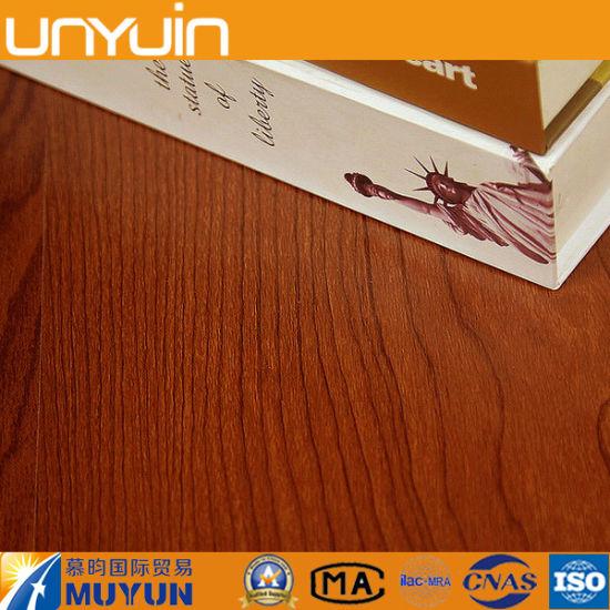 Anti-Slip Commercial Wood PVC Vinyl Floor Tiles