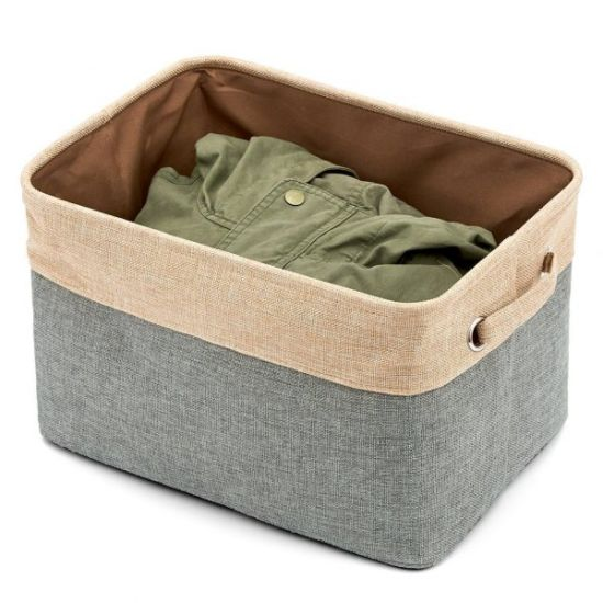 Square Dirty Cloth Laundry Box pictures & photos