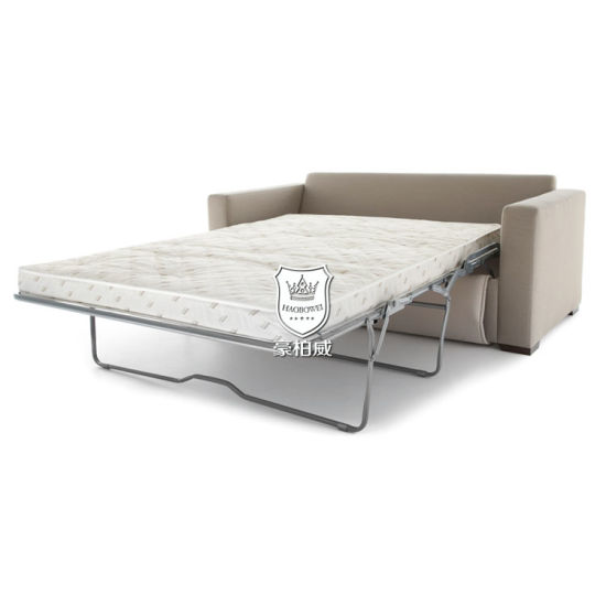 China Modern Design Sofa Cum Bed with Foldable Mechanism for Hotel