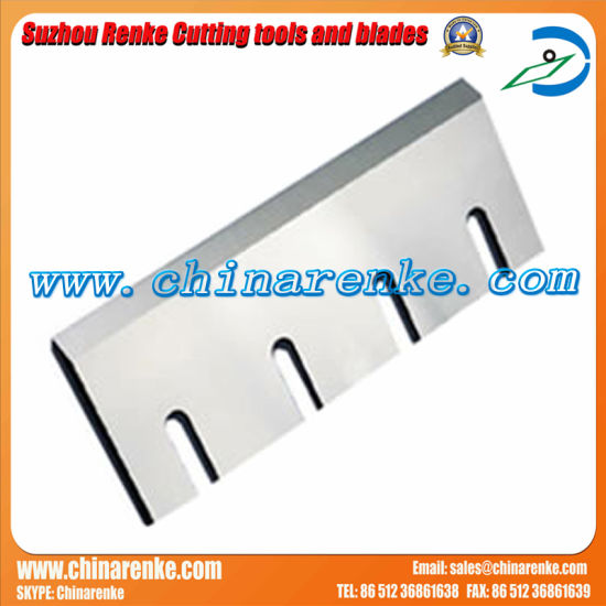 Tungsten Carbide Guillotine Paper Cutting Blade pictures & photos