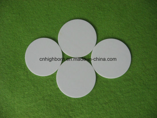 Machinable Glass Ceramic Circular Plate pictures & photos