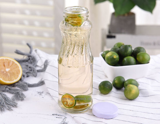 Food Grade Glass Juice Bottle/Liqueurs Bottle