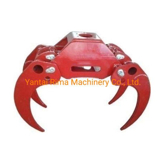 Grapple Log Loader / Hydraulic Grapple / Hydraulic Rotator for Grapple