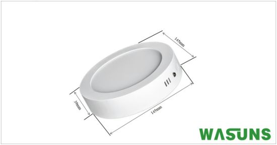 Commercial Lighting Surface Mounted 9W Panel LED with Ce RoHS pictures & photos