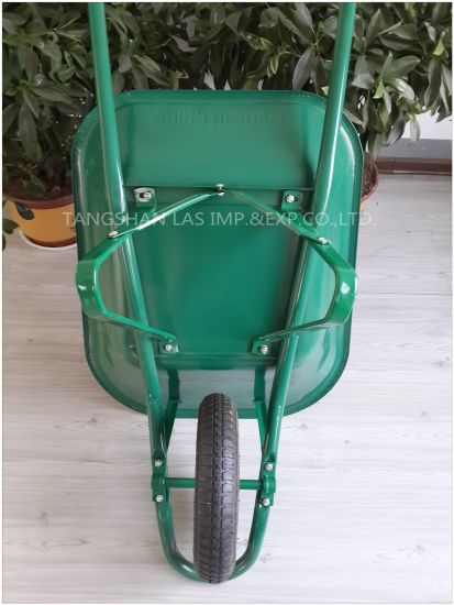 Wheel Barrow Popular Construction Wheelbarrow Wb6400 for Middle East Market pictures & photos