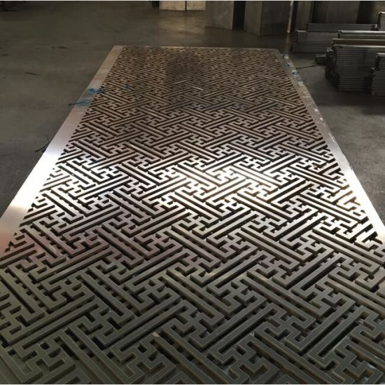China Feature Design Ceiling With Cnc Cutting Pattern China