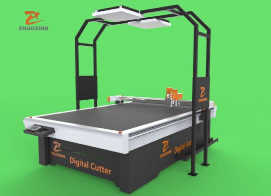 EPE/EVA/Sponge Polyurethane Foam Pattern Cutting Machine Film Cutting Equipment Good Quality Low Price Pneumatic CNC Knife Cutting Machine Foam Composite Materi