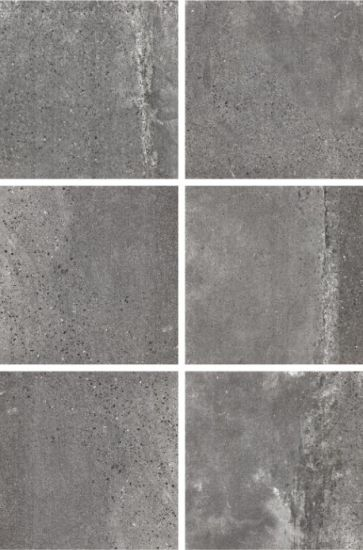 China Inch Six Face Cement Porcelain Floor Tile For Department - 16 inch ceramic floor tile