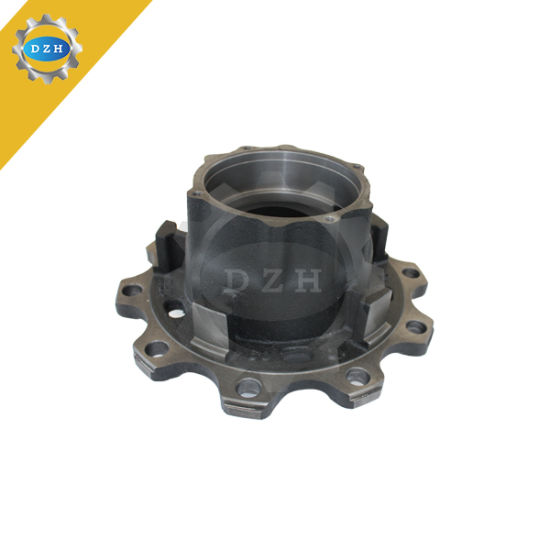CNC Machining Iron Casting Large Convex Wheel Hub pictures & photos