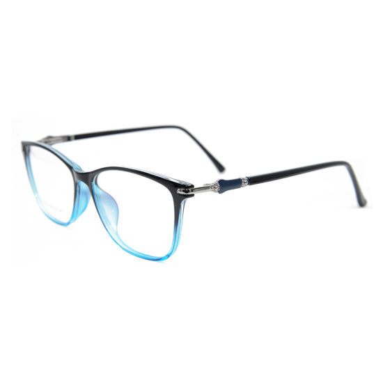 High Quality New Tr90 Ready Stock Lady Full Rim Eyewear Optical Frame with Spring pictures & photos